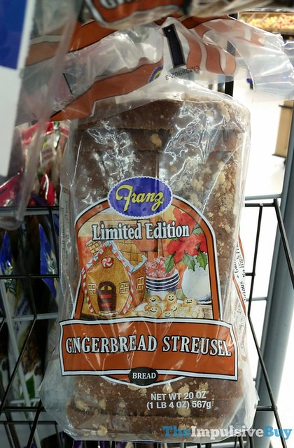 Franz Limited Edition Gingerbread Streusel Bread