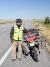 This dude had just come back from the Pamir Highway in Tajikistan
