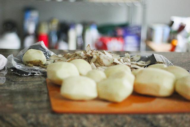 "-Potato Leek Soup with Pancetta ""Croutons"" | Southern Soufflé"