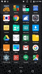 App tray ของ obi worldphone sf1