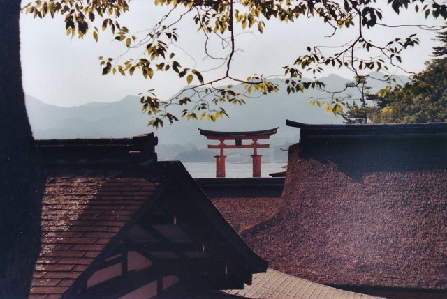 Red Torii Gate, Miyajima