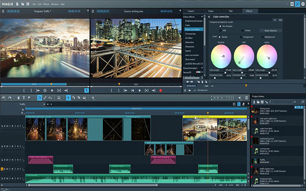 magix video pro free download
