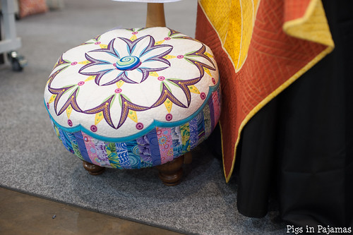 Super cool tuffet at one of the booths