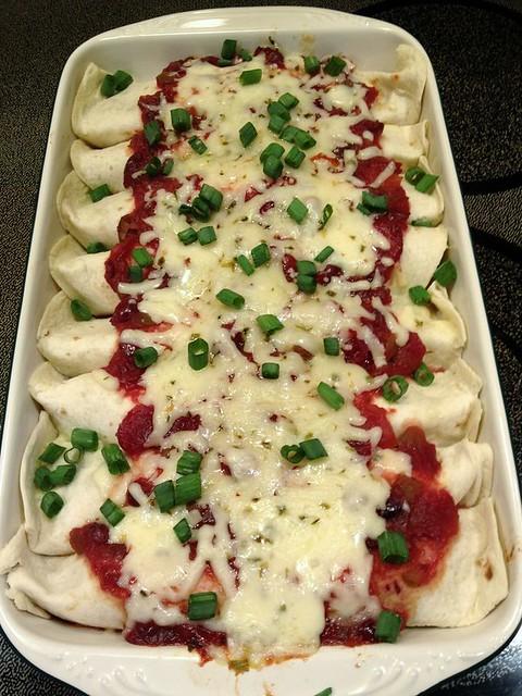 TurkeyCranchiladas