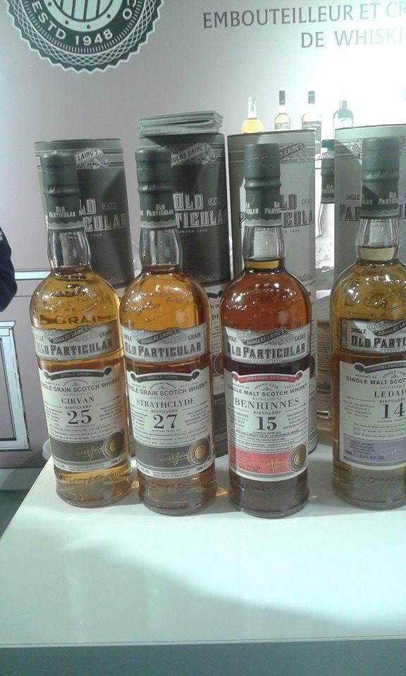 Strathclyde 27 Years Old ... een van de beste whiskies die op Whisky Live Paris proefde. (Foto: Alex Oger)