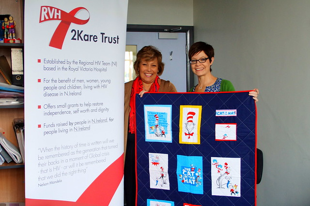 Bee Blessed donating quilts
