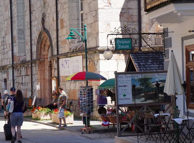 ハルシュタット 細い搭の教会