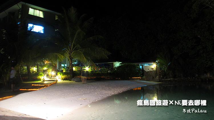 27百悅飯店沙灘夜晚