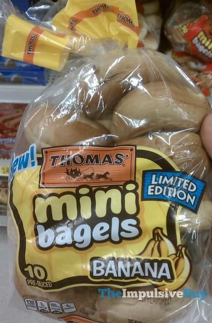 Thomas' Limited Edition Banana Mini Bagels