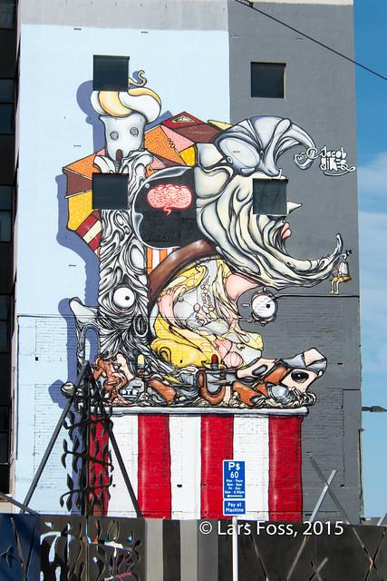 Mural in High Street