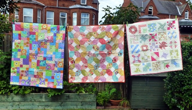Bee Blessed children's quilts Aug15
