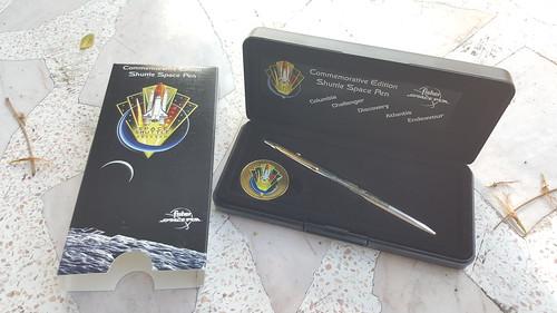CH4-CES Commemorative Space Shuttle Pen & Coin Set