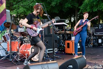 Ex Hex @ NC Museum of Art in Raleigh NC on August 12th 2017
