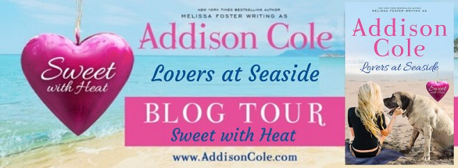 Lovers at Seaside (Sweet with Heat: Seaside Summers) by Addison Cole Book Tour