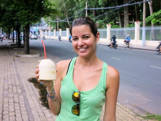 Ruta a pie por Ho Chi Minh