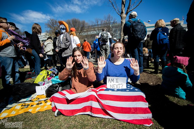 March For Our Lives Jonny Grave