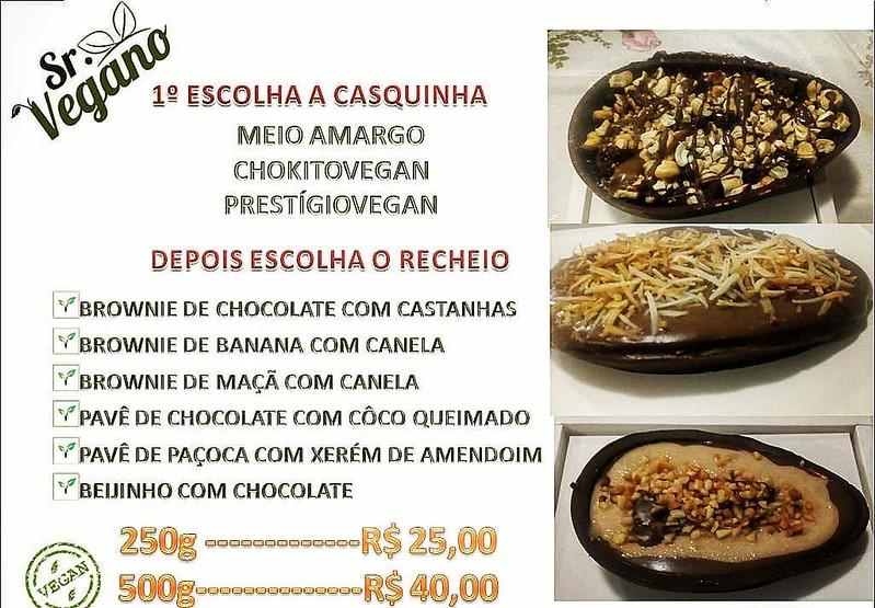 Ovos de páscoa veganos em Recife
