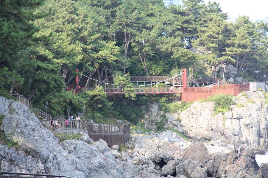 pont île dongbaek hauendae