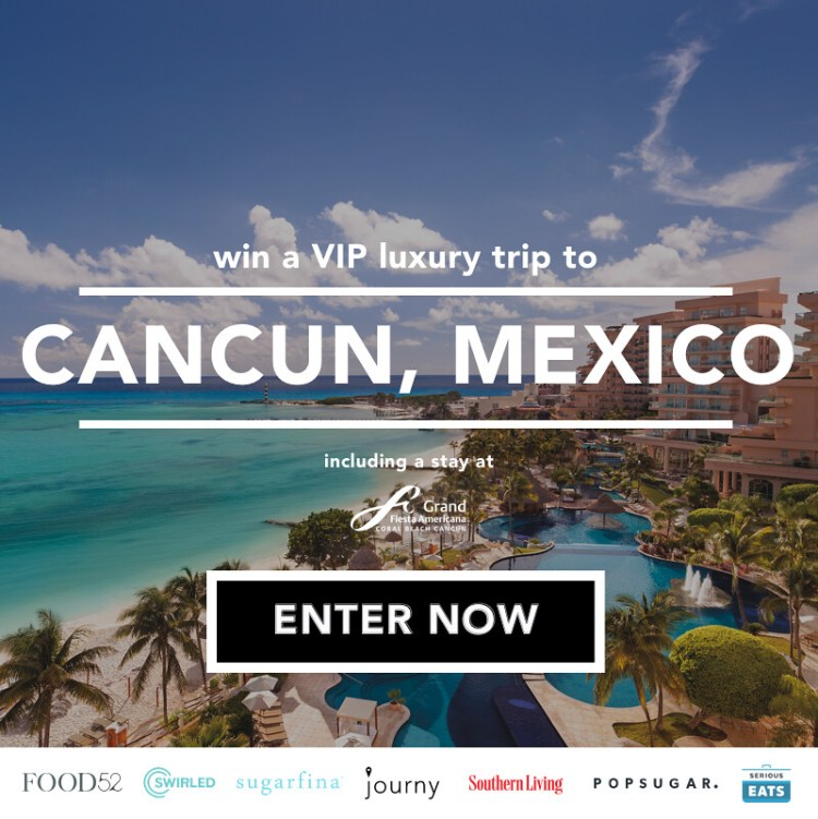 Win A Journy Trip To Cancún!