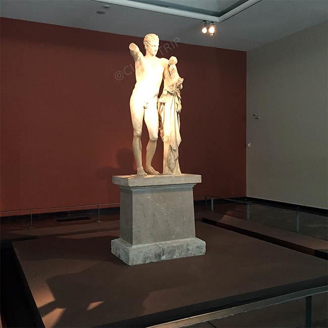 · Hermes de Praxíteles · Museo de Olimpia · ¿Qué ver en Olimpia? · Grecia · Ruta en coche por Grecia · Click_Trip ·