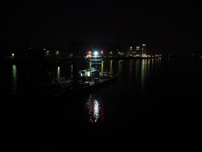 Schöneweide bei Nacht