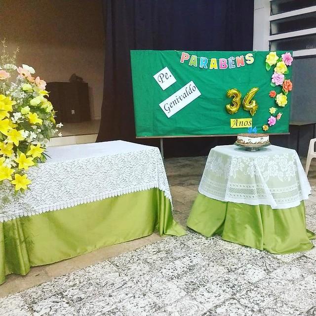 Celebração de aniversário do padre Genivaldo