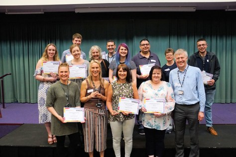 YMCA Norfolk Staff Awards Day April 2018