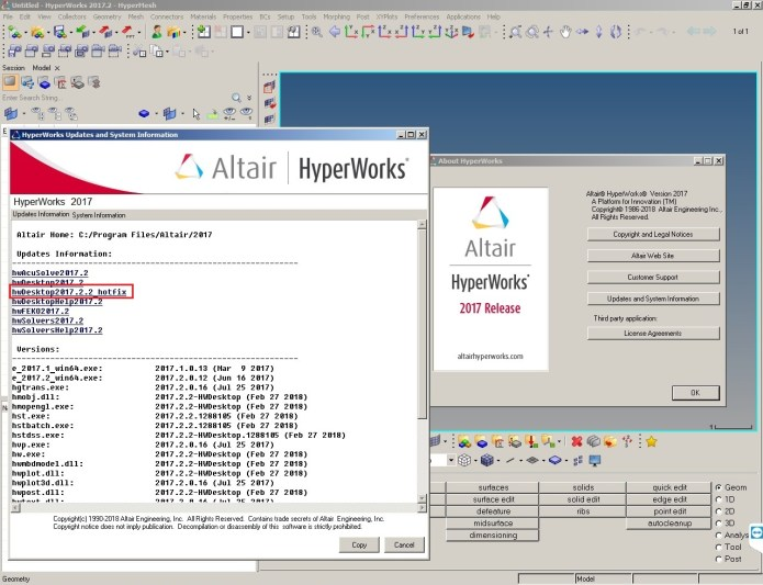 Working with Altair HyperWorks 2017.2.2 full license forever