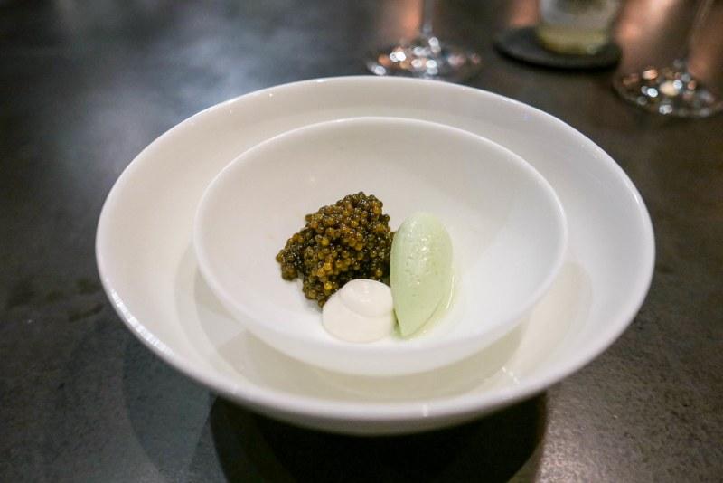 Golden Osetra Caviar, Sicilian Pistachio, IPA