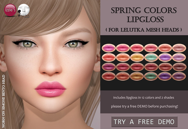 Spring Colors Lipgloss LeLutka (for FLF)
