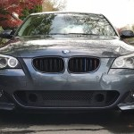 Gy Double Slats Glossy Black Abs Material Front Grille For Bmw 5 Series Gt F07 2010