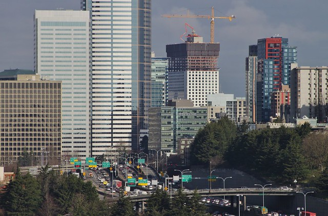 I-5 northbound from Rizal Park