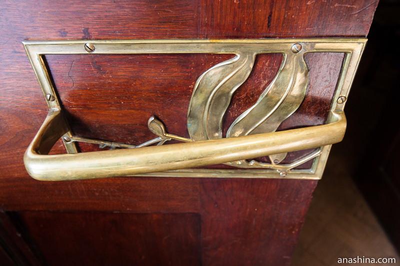 Дверная ручка, особняк Рябушинского, Москва