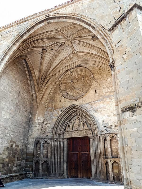 Portico Iglesia de San Salvador de Sangüesa Navarra 02