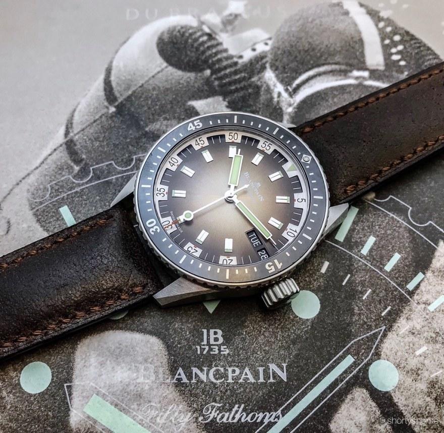 Blancpain Bathyscaphe Jour Date 70s