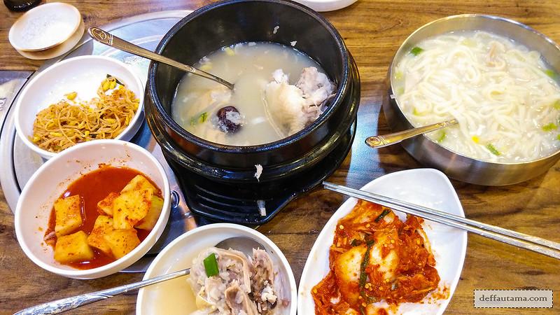 Dongdaemun Night Market - Menu Set