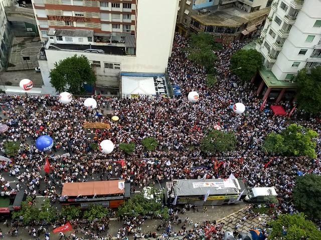 SP: Servidores na luta contra a reforma de João Doria