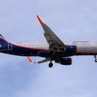 Aeroflot VP-BJW, OSL ENGM Gardermoen