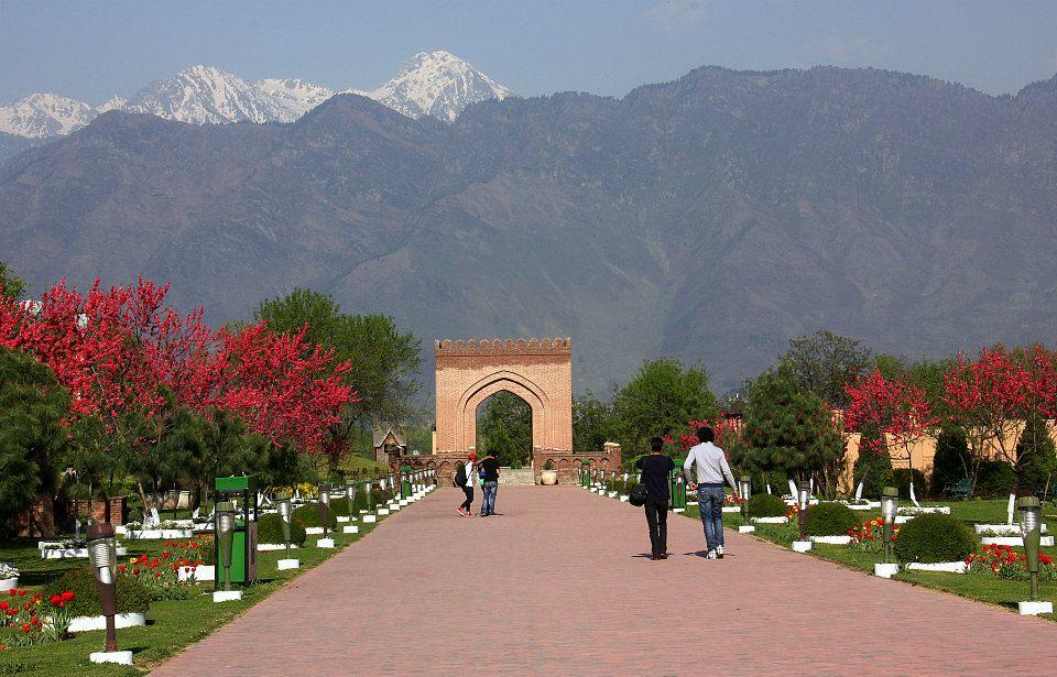 Koh-e-Maran seen from Badamwari