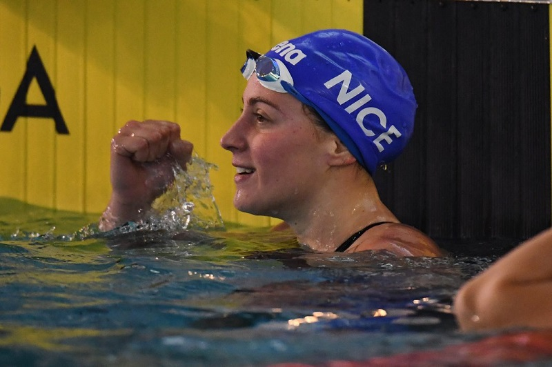 Golden Tour Camille Muffat 2018: Bonnet ed Henique da record a Marsiglia