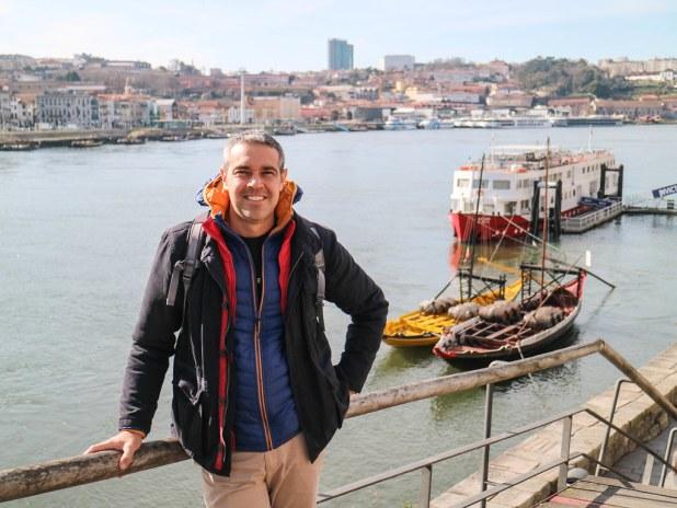 Ribeira en Oporto