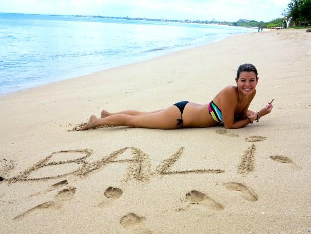 La mejor playa de Bali