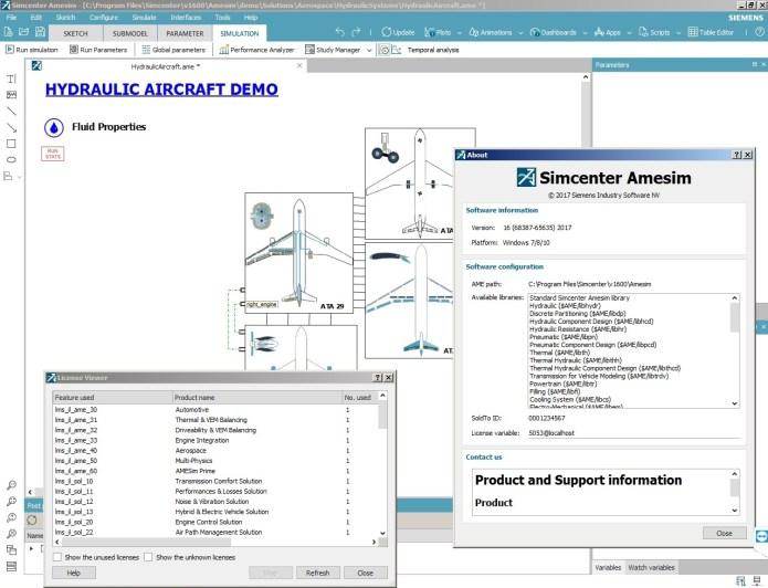 Working with Siemens Simcenter Amesim 16.0 full