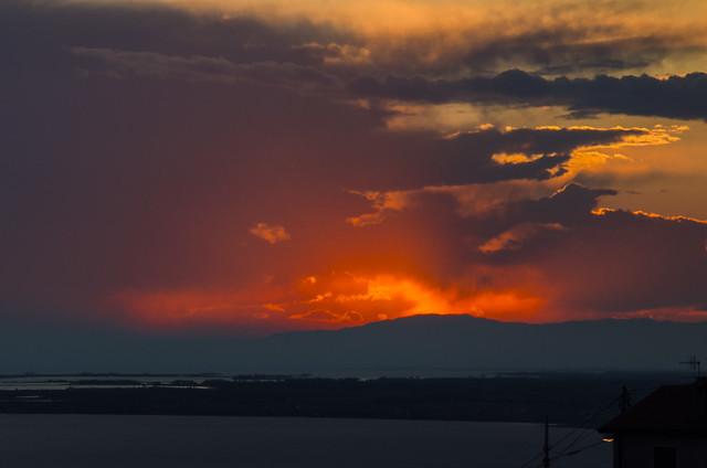 tra un tramonto e l'altro .... I'm grateful for the laughter of children, the sun and the wind and the rain