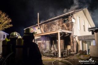 Gebäudebrand Hünstetten-Görsroth 20.03.18