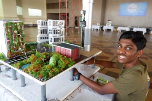 Madavan Jayakumaran won 3rd place in Exploratarium