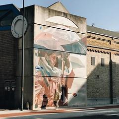 #morning #light #streetart #oostende #visitoostende #ostend #vsco #vscocam #thechrystalship #colours #wall #street #guardiantravelsnaps #wanderlust #belgium #igbelgium