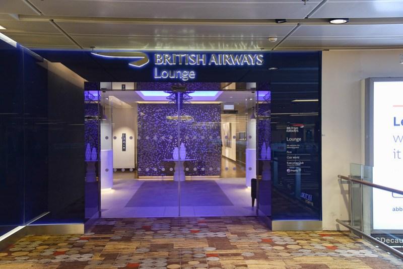 british airways lounge entrance changi airport