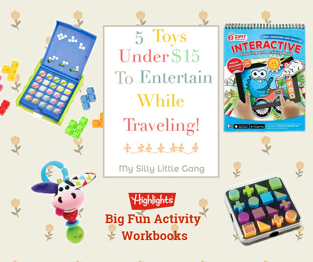 5 Toys Under $15 To Entertain While Traveling