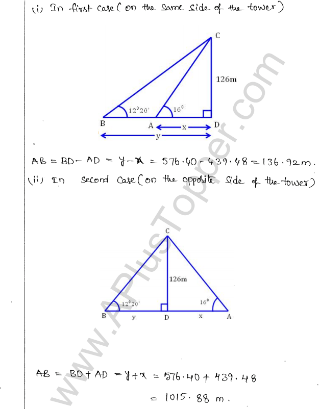 ml-aggarwal-icse-solutions-for-class-10-maths-chapter-21-heights-and-distances-30